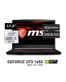 MSI Core i5 10300H 8GB SSD256  17,3″ FHD 144HZ