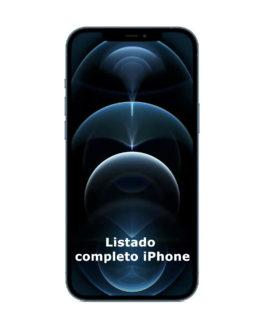 iPhone listado completo