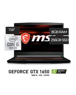 MSI Core i5 10300H 8GB 256SSD 15.6″ FHD