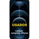 iPhone USADOS  – listado completo